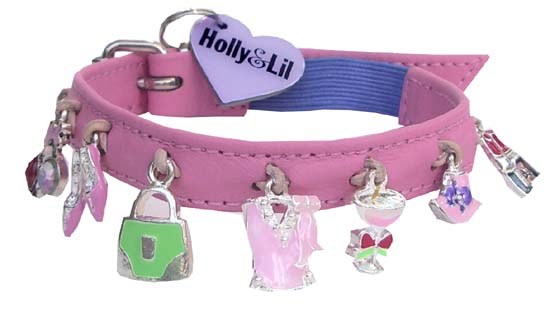 """Girls Just wanna have fun..."" - Holly & Lil Collars Handmade in Britain, Leather dog collars, leads & Dog harnesses."