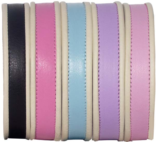 """Hollywood Dreams"" dog collars - Holly & Lil Collars Handmade in Britain, Leather dog collars, leads & Dog harnesses."