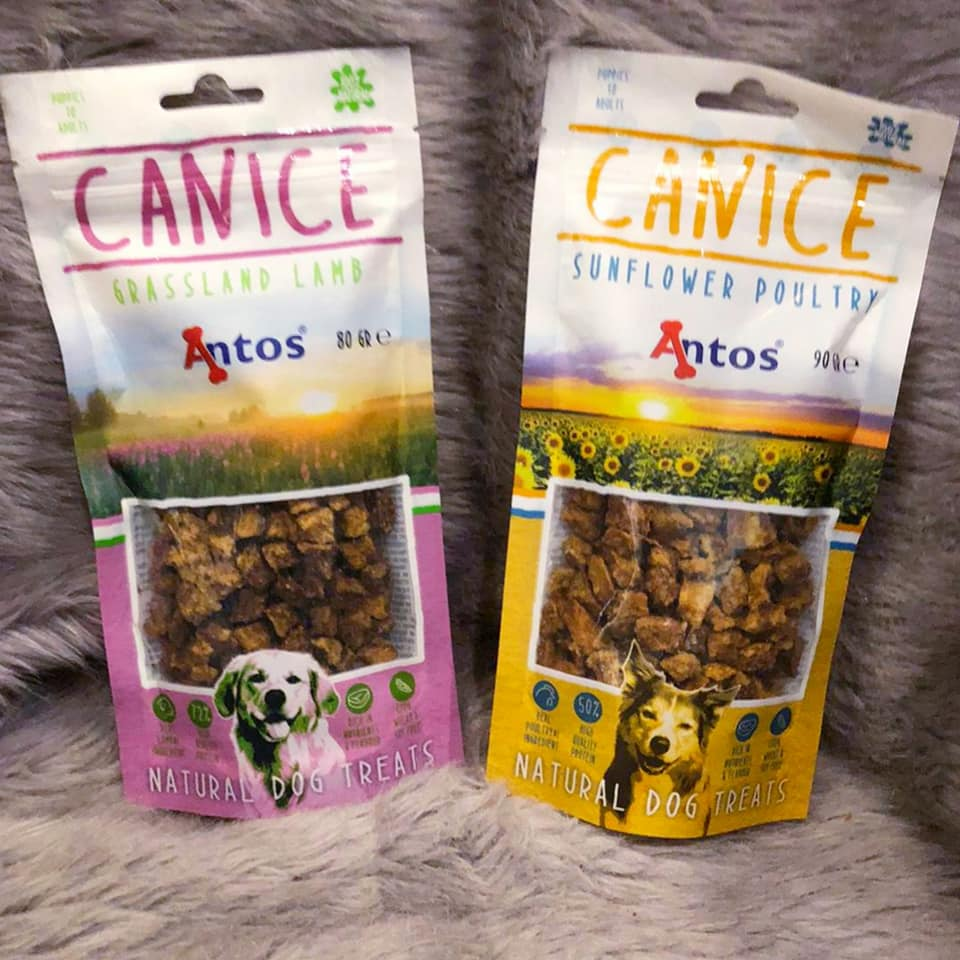 Canice Natural Dog Treats... Lamb and Poultry