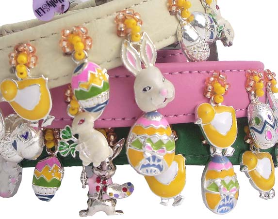 Easter Parade dog collars