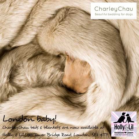 Faux Fur Dog Blankets<br>Made in England