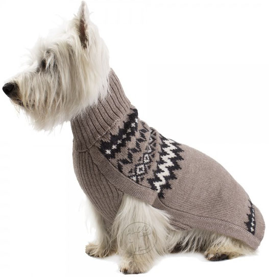 Mystery Earth Alpaca Peruvian handknitted Dog Jumpers