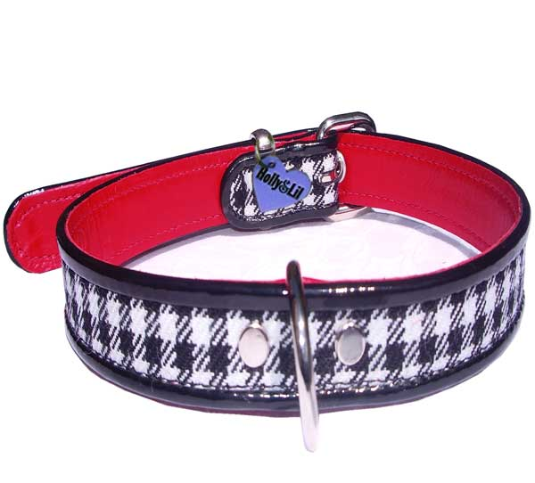 Ooh La La!! Tartan dog collar