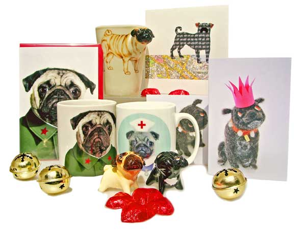 Pug Lovers Gift Ideas - Holly & Lil Collars Handmade in Britain, Leather dog collars, ...