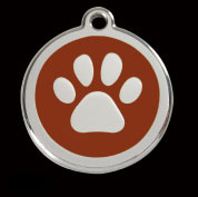 Red Dingo Tags<br>for Cats and Dogs<br>cost inc tag & engraving