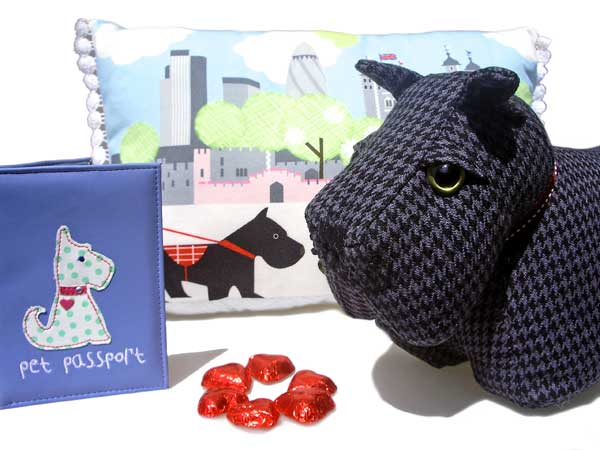 Scottish Terrier Lovers Gift ideas - Holly & Lil Collars Handmade in Britain, Leather dog collars, leads & Dog harnesses.