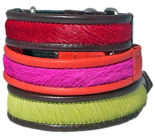 The Brightside Cowskin & Calf Cat Collars - Holly & Lil Collars Handmade in Britain, Leather dog collars, leads & Dog harnesses.