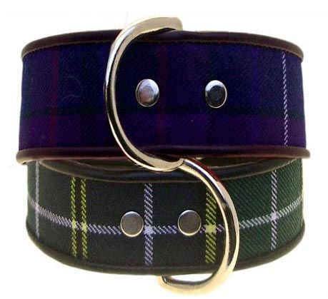 The Tartan Twill Dog Collar Collection