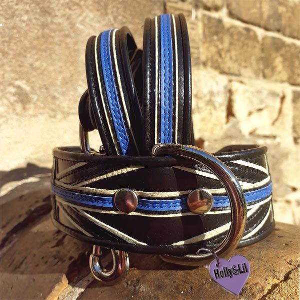 The Thin Blue Line  Dog Collar