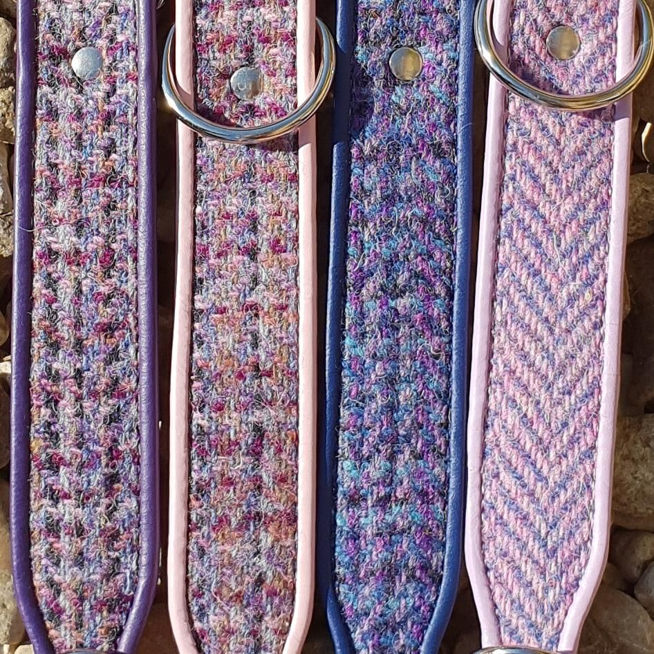 The Heathers Collection Harris Tweed Dog Collars